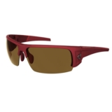 Ryders Caliber Dark Red Matte Crystal/Brown