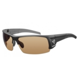 Ryders Caliber Photo Black Matte/Brown Lens