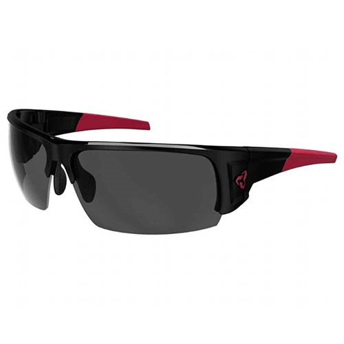 Ryders Caliber Photo Black-Red/Grey Lens