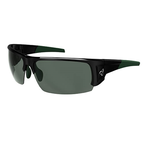 Ryders Caliber Polar Black-Green/Green