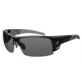 Ryders Caliber Poly Black/Gloss Grey Lens