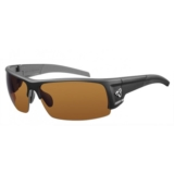 Ryders Caliber Poly Black Matte/Brown Lens