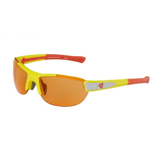 Ryders Crankum Anti-Fog Yellow-Orange-Grey/Orange Lens