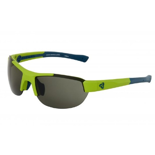 Ryders Crankum Anti-Fog Matte Green-Blue/Green Lens