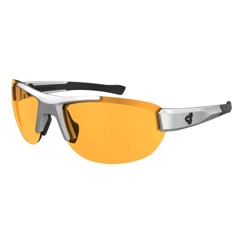 Ryders Crankum Velo-Polar White-Black/Amber Anti-Fog