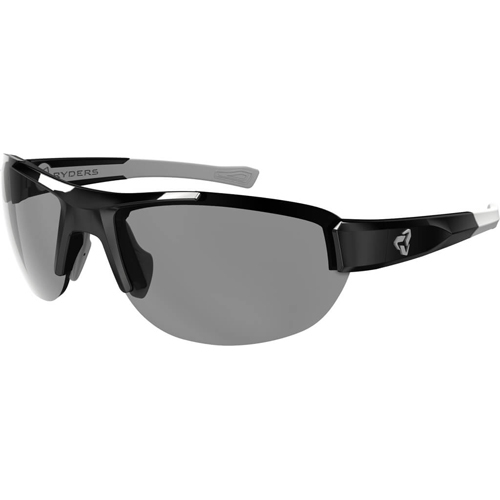 Ryders Crankum Velo-Polar Black-Grey/Grey Lens Anti-Fog