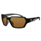 Ryders Face Polarized Gloss Black/Brown Lens