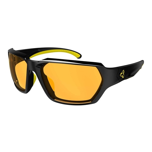 Ryders Face Velo-Polar Black-Yellow/Amber Anti-Fog