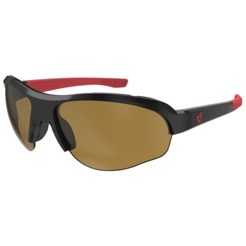 Ryders Flume Black-Red/ Brown Lens
