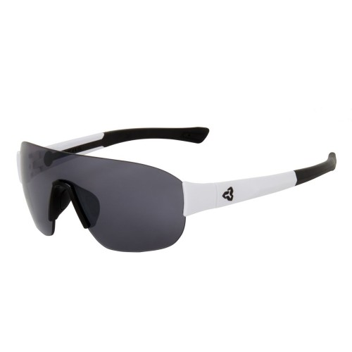 Ryders Grafton Anti-Fog White-Black/Grey Lens