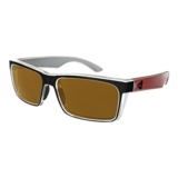 Ryders Hillroy Poly Black-Red/Brown
