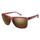 Ryders Jackson Dark Red Matte Crystal/Brown
