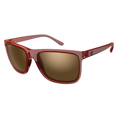 Ryders Jackson Dark Red Matte Crystal/Brown - Ryders Style # R07301B S19