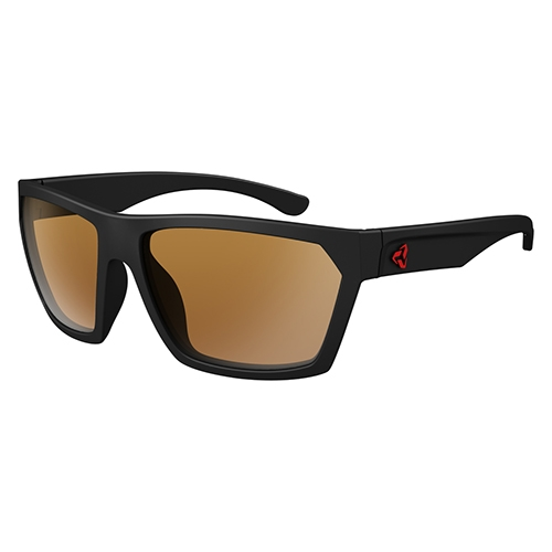 Ryders Loops Black Matte/Brown Lens