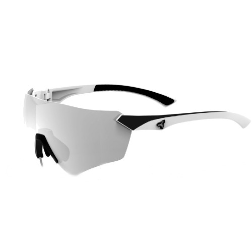 Ryders Main Anti-Fog White-Black/Grey-Silver Mirror