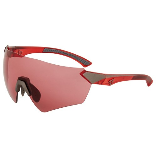 Ryders Main Anti-Fog Matte Xtal-Red-Gun/Rose Lens