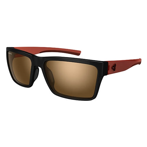 Ryders Nelson Black-Dark Red/Brown
