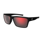 Ryders Nelson Polar Matte Black/Grey w/Red Mirror