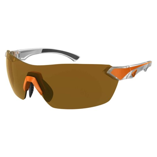 Ryders Nimby Anti-Fog Orange-White/Brown Lens