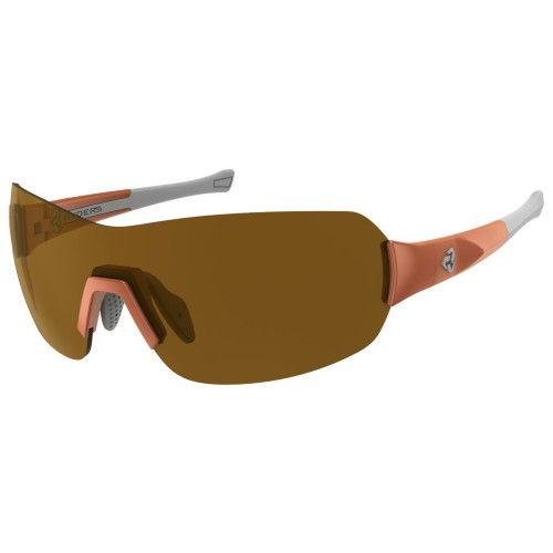 Ryders Pace Anti-Fog Orange-White/Brown Lens
