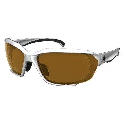 Ryders Rockwork Anti-Fog White-Black/Brown Lens
