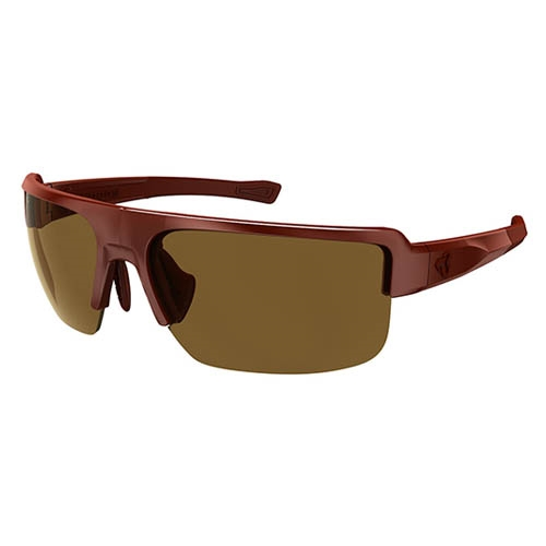 Ryders Seventh Polar Matte Dark Red/Brown