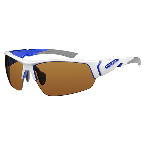 Ryders Strider Anti-Fog White-Blue/Brown