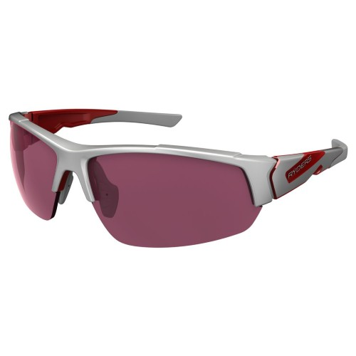 Ryders Strider Anti-Fog White-Red/Rose Lens