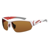 Ryders Strider Interchangeable Shiny White/Red Lens