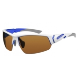Ryders Strider Interchangeable Shiny White/Blue Lens
