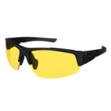 Ryders Strider Black Matte/Yellow Lens