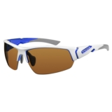 Ryders Strider White-Blue/Brown Anti-Fog