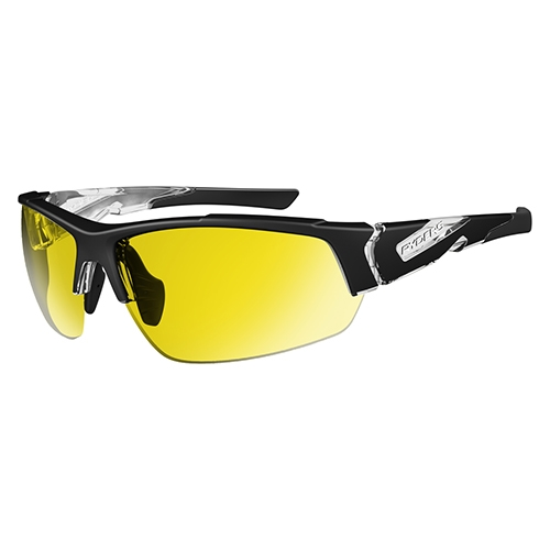 Ryders Strider Polarized Traction Black/Yellow - Ryders Style # R830-006B C18