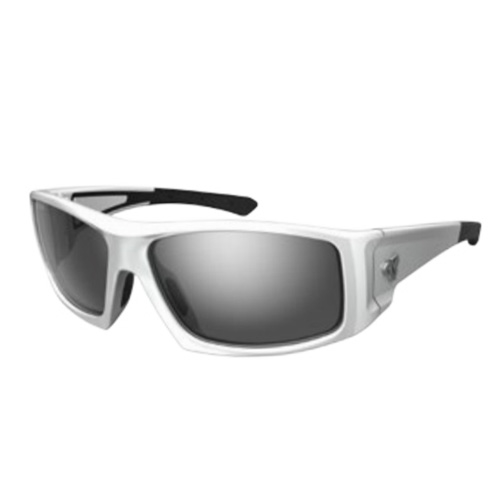 Ryders Trapper White-Silver/Grey Lens - Ryders Style # R02501A C18