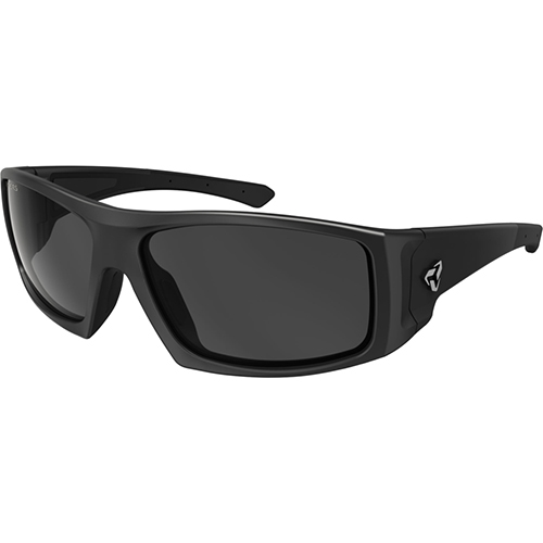 Ryders Trapper Black Matte/Grey Lens Anti-Fog