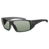 Ryders Trapper Photochromic Black Matte/Green Lens