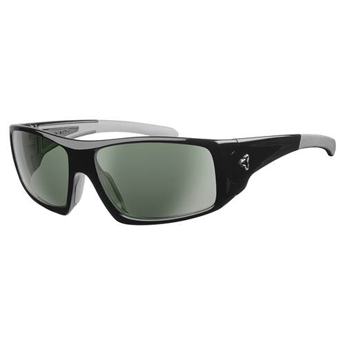 Ryders Trapper Polarized Black/Green Lens