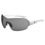 Ryders Via Mettalic White/Grey Lens