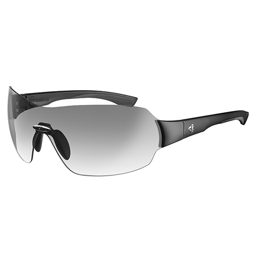 Ryders Via Matte Black/Clear Lens