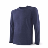 SAXX Blacksheep Ls Crew Men's Navy/Heather