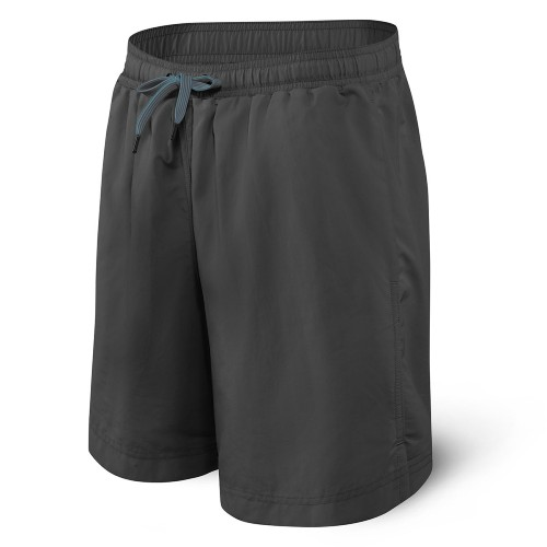 "SAXX Cannonball 2In1 9"" Trunks Men's Graphite"