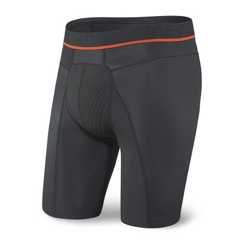 SAXX Hyperdrive Long Boxer Men's Blackout