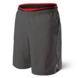 "SAXX Kinetic 2-IN-1 Short 9"" Men's Dark Charcoal"