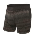 "SAXX Kinetic 5"" Boxer Brief Men's Black Frequency"