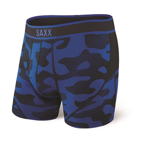 "SAXX Kinetic 5"" Boxer Brief Men's Blue Melt"
