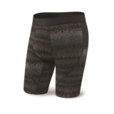 "SAXX Kinetic 9"" Boxer Brief Men's Black Frequency"