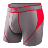 SAXX Kinetic Boxer Men's Rock/Red