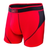 SAXX Kinetic Boxer Men's Red/Black