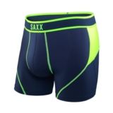 SAXX Kinetic Boxer Men's Navy/Neon Green