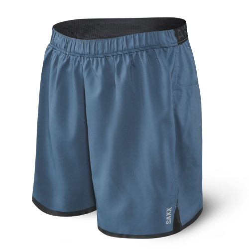 SAXX Pilot 2 In 1 Run Short Men's Dark Denim
